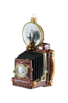 Kurt Adler Polonaise Camera Ornament - Alternate List Image