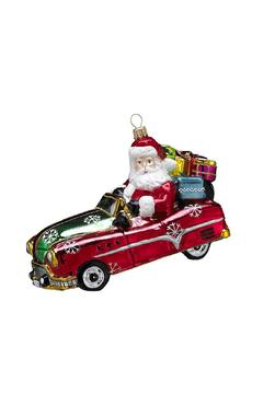 Kurt Adler Polonaise Driving Santa - Alternate List Image
