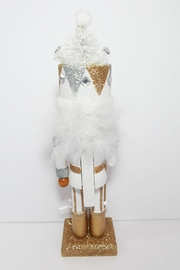 Kurt Adler White Tree Nutcracker - Side cropped