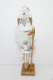 Kurt Adler White Tree Nutcracker - Front full body