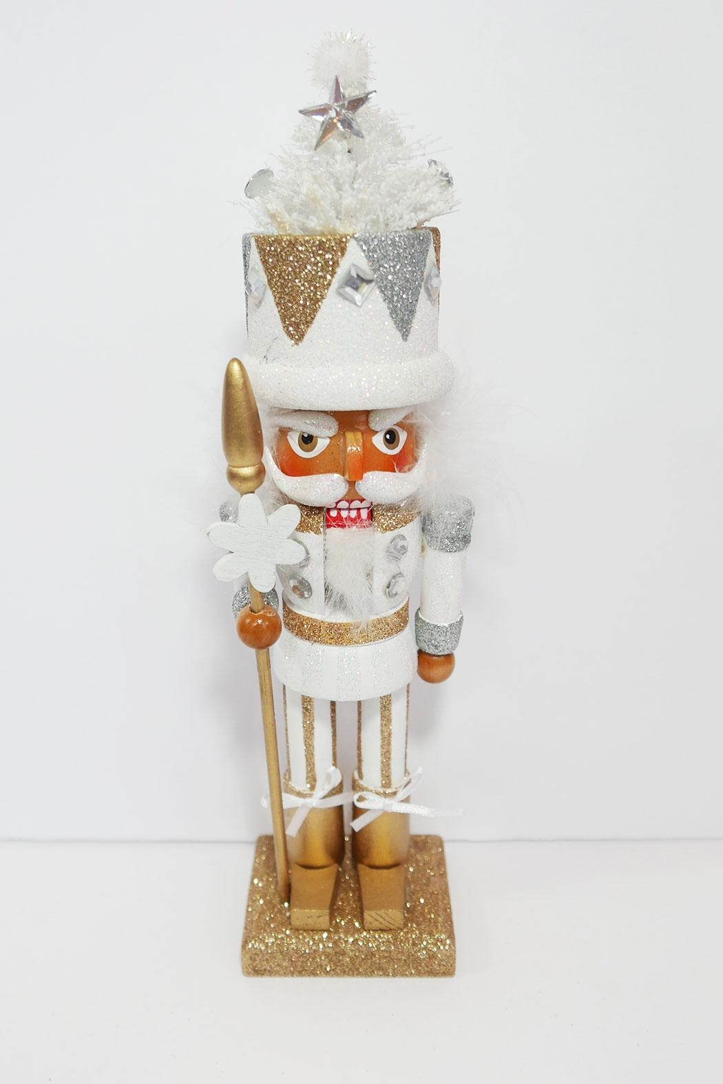 Kurt Adler White Tree Nutcracker - Main Image