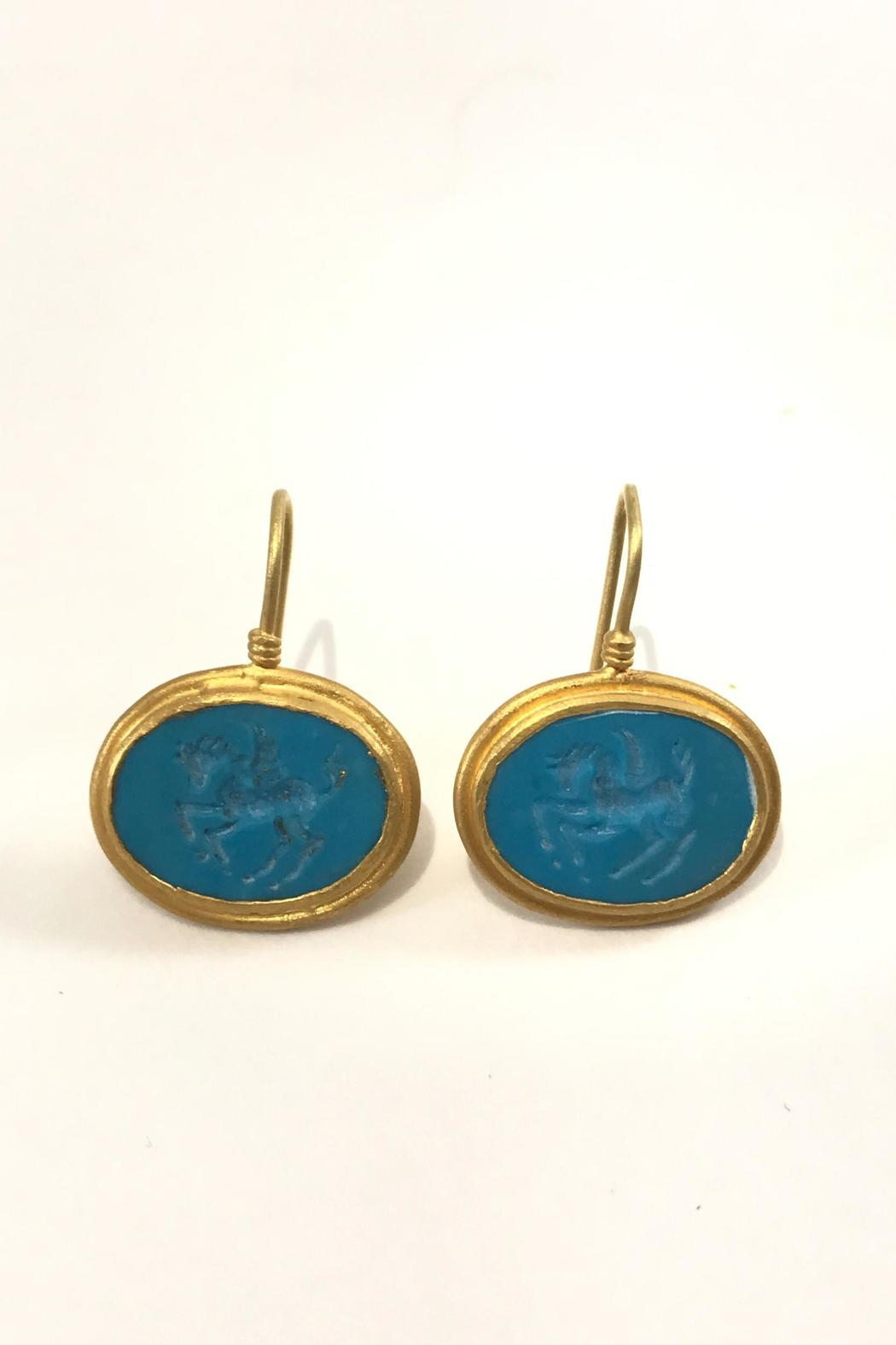 Kurtulan Turquoise Earrings - Main Image