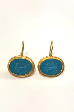 Shoptiques Product: Turquoise Earrings