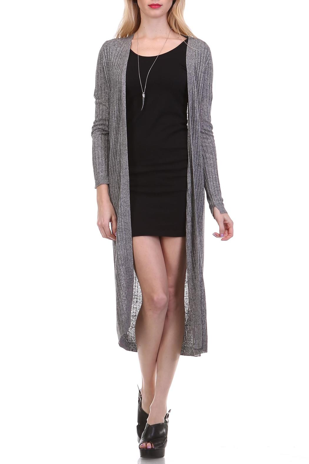 kurv Ribbed Duster Cardigan from Brentwood by Kurv — Shoptiques
