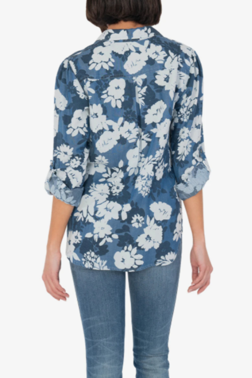 KUT Armina Button Front Blouse - Side Cropped Image