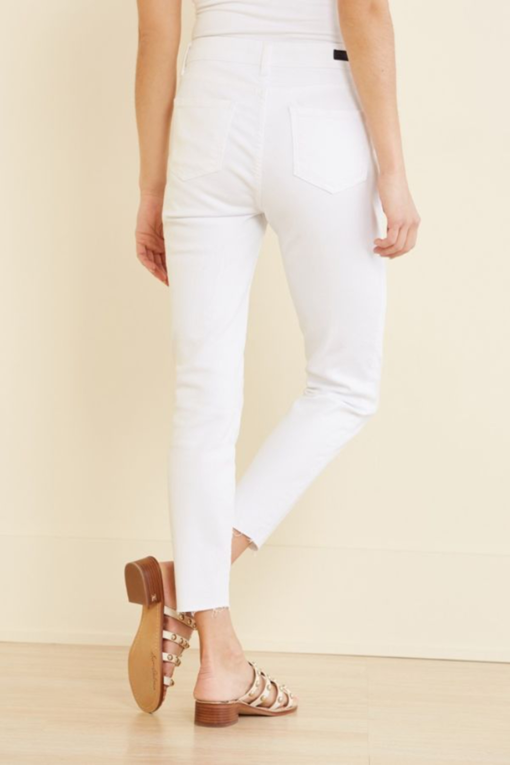 KUT Connie High Rise Ankle Skinny - Side Cropped Image