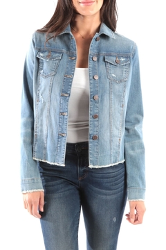Kut from the Kloth KUT From the Kloth Arielle Denim Jacket - Alternate List Image