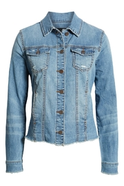 Kut from the Kloth KUT From the Kloth Arielle Denim Jacket - Product Mini Image