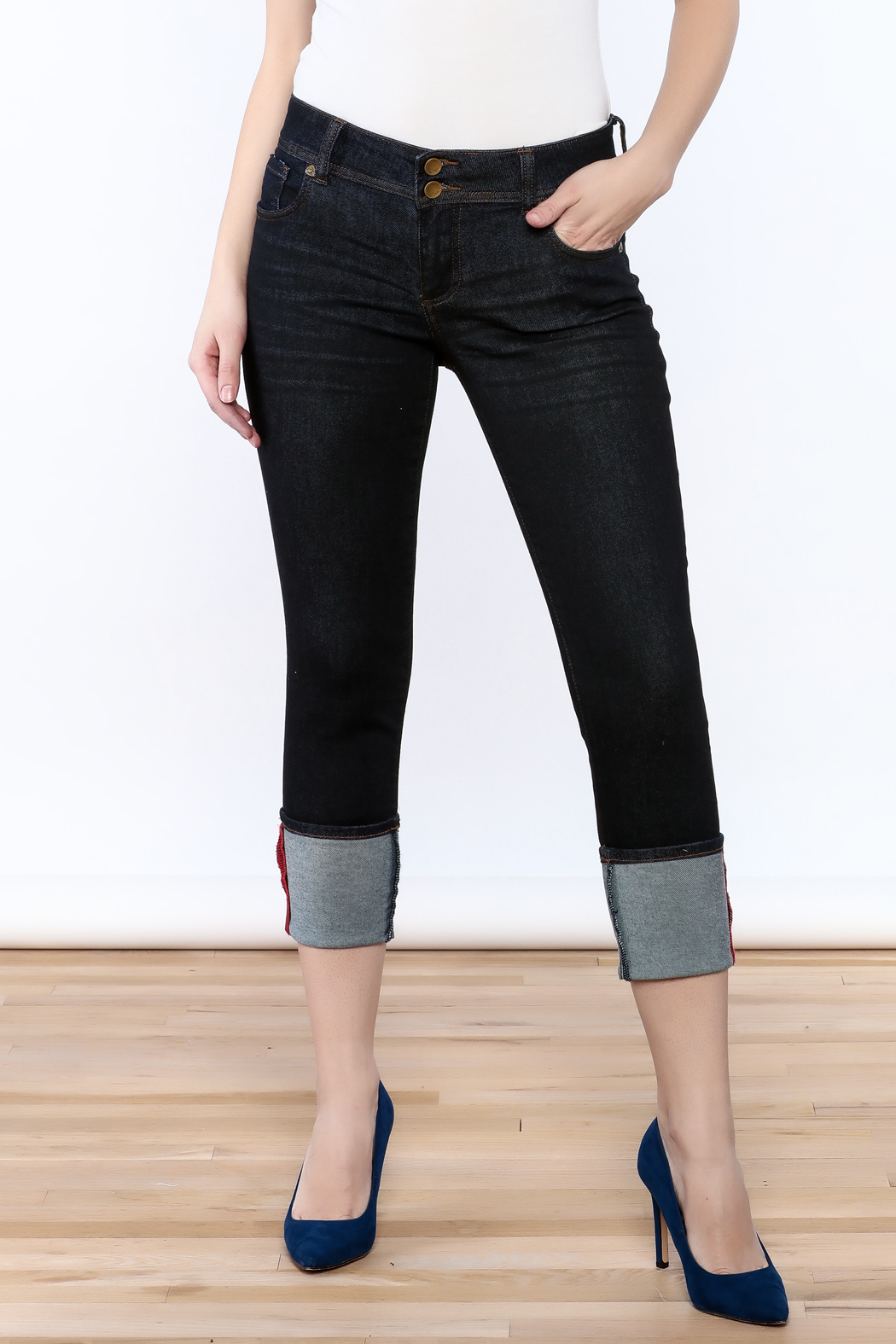 Kut from the Kloth Cameron Skinny Jeans - Main Image
