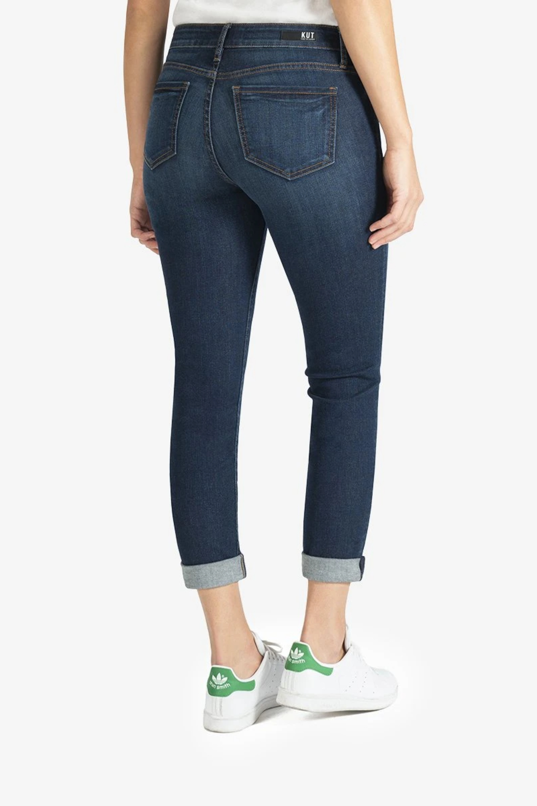 Kut from the Kloth Catherine Boyfriend Jeans - Side Cropped Image