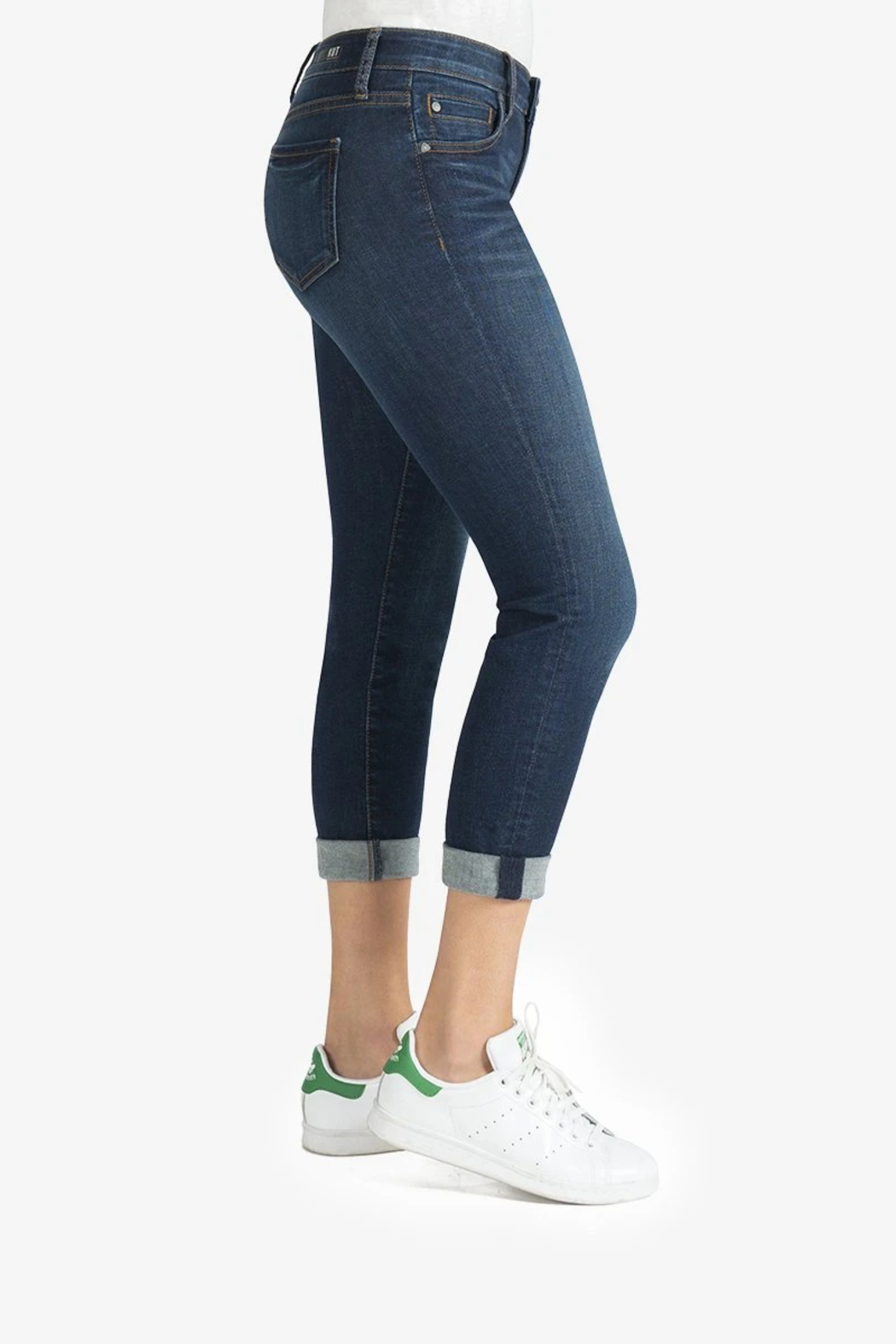 Kut from the Kloth Catherine Boyfriend Jeans - Front Full Image