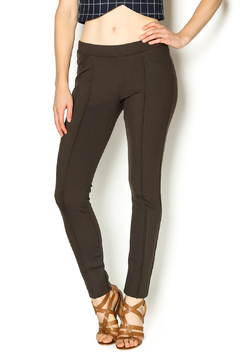 Kut from the Kloth Chocolate Ponte Trouser - Product List Image