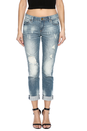Kut from the Kloth Distressed Boyfriend Jean - Side cropped