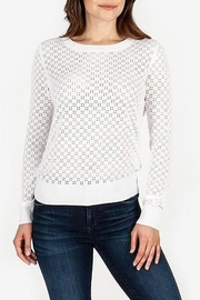 Kut from the Kloth KUT From The Kloth Edythe Eyelet Knit Sweater - Product Mini Image
