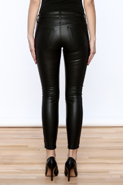 Kut from the Kloth Faux Leather Pant - Back cropped