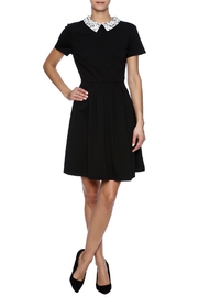 Kut from the Kloth Gem Collar Dress - Front full body