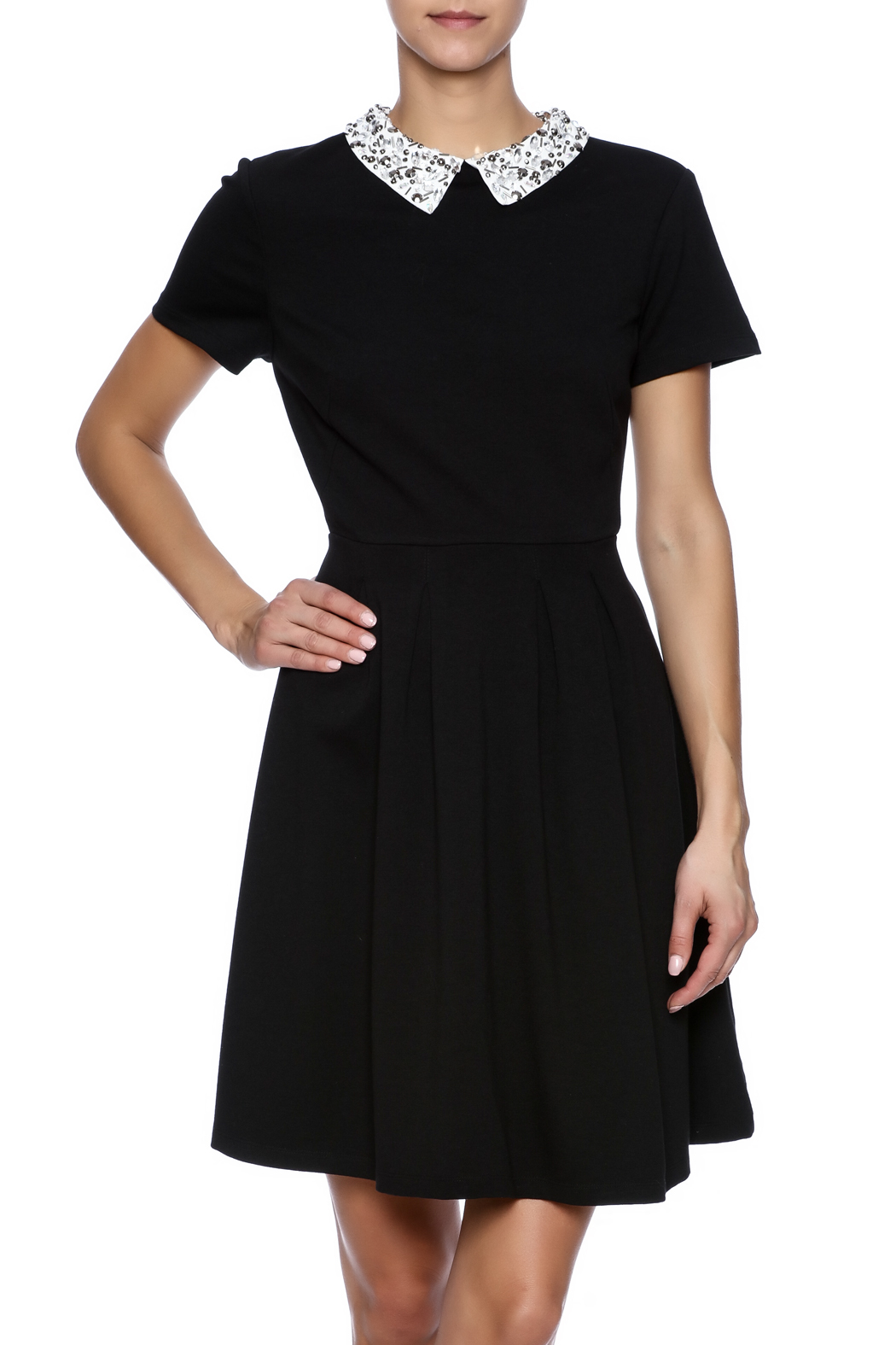 Kut from the Kloth Gem Collar Dress - Main Image