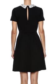 Kut from the Kloth Gem Collar Dress - Back cropped
