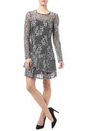 Kut from the Kloth Lace Flare Dress - Front full body