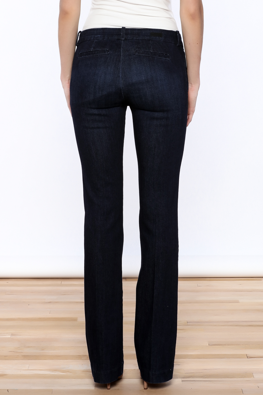 Kut from the Kloth Natalie Trouser Flare - Back Cropped Image
