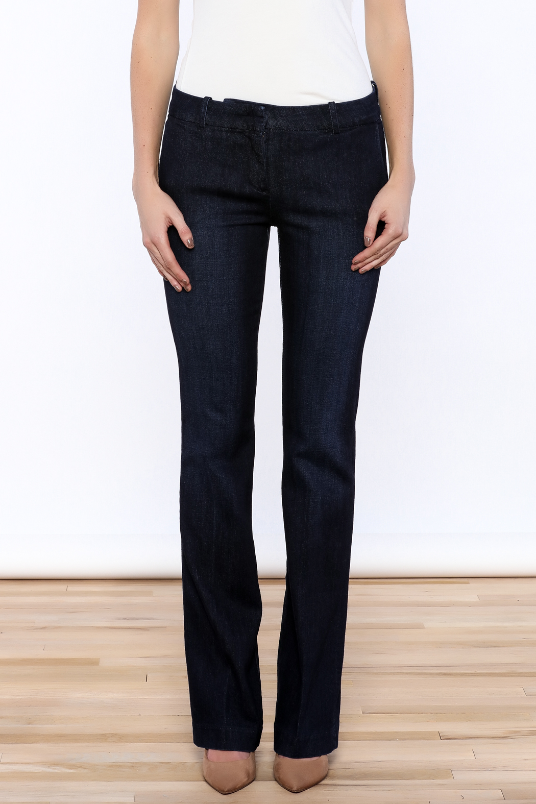 Kut from the Kloth Natalie Trouser Flare - Side Cropped Image