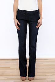 Kut from the Kloth Natalie Trouser Flare - Side cropped