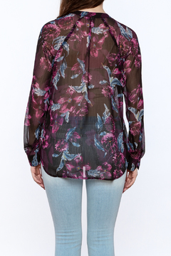 Kut from the Kloth Sheer Floral Blouse - Alternate List Image