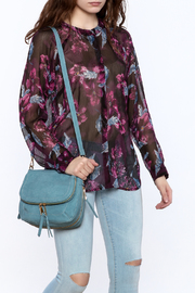 Kut from the Kloth Sheer Floral Blouse - Product Mini Image