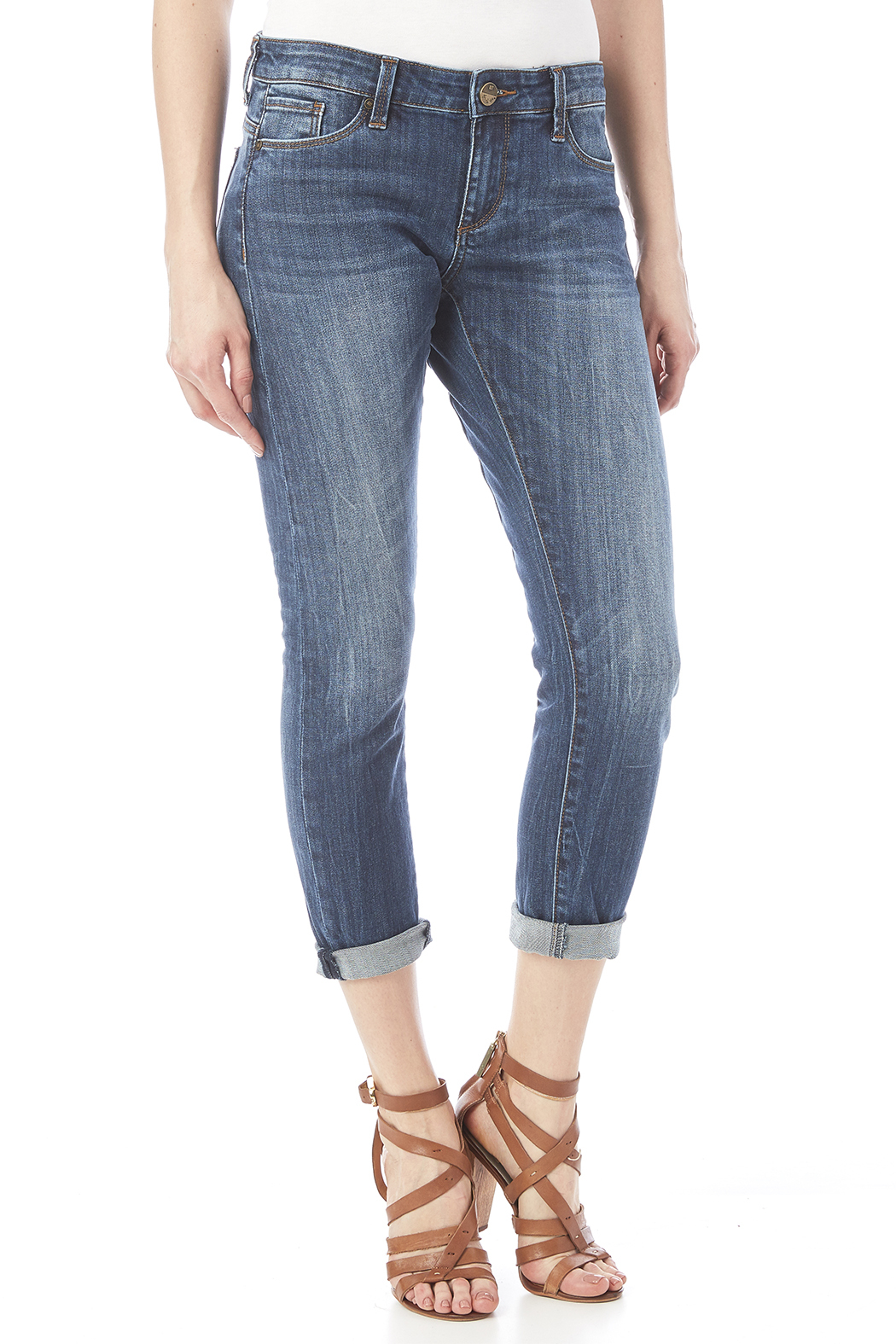 Kut from the Kloth Slim Boyfriend Jean - Main Image