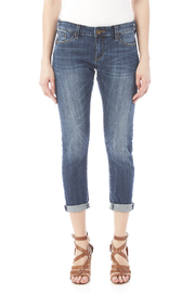 Kut from the Kloth Slim Boyfriend Jean - Side cropped