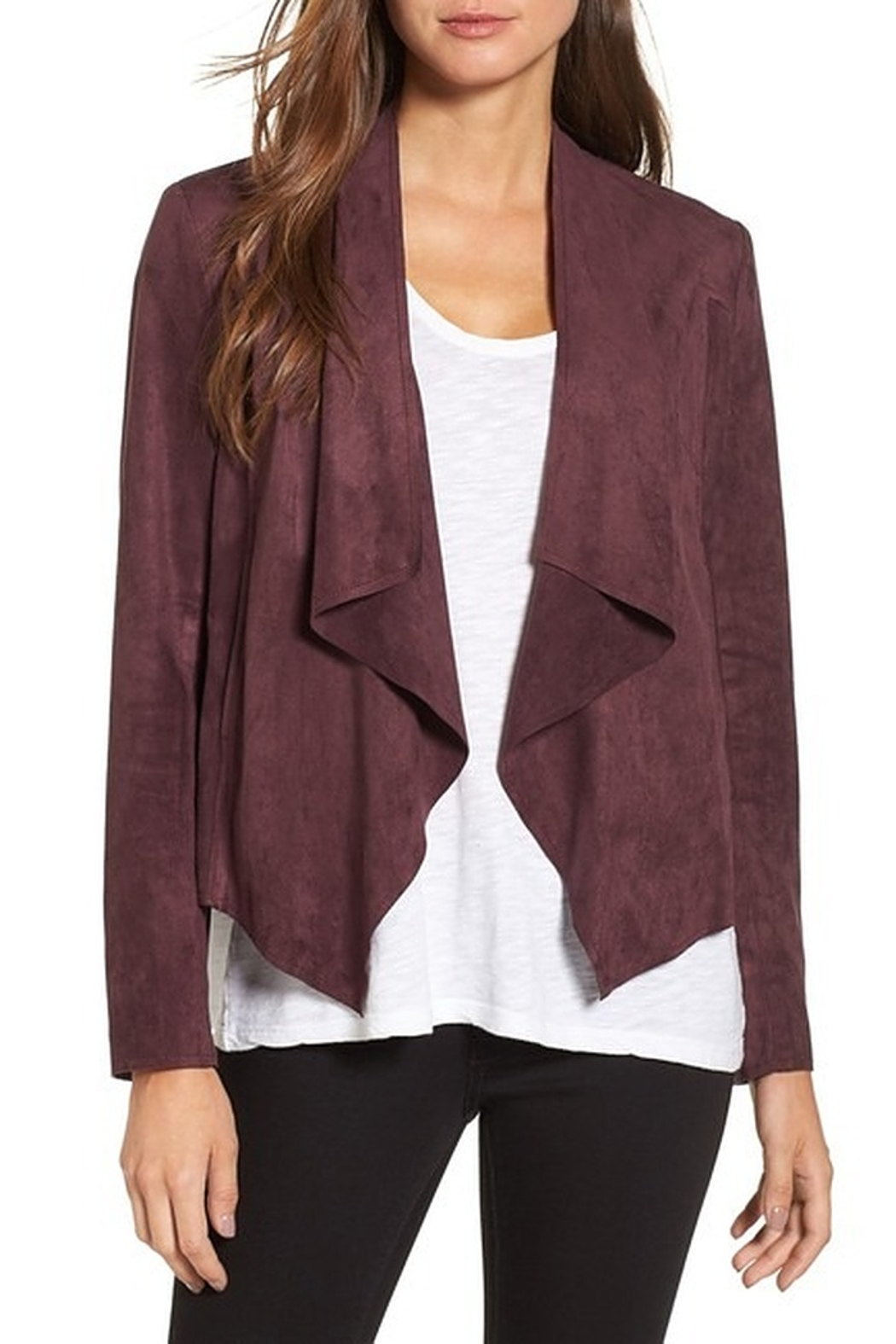 KUT Kut From The Kloth Tayanita Faux Suede Jacket - Main Image