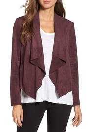KUT Kut From The Kloth Tayanita Faux Suede Jacket - Front cropped