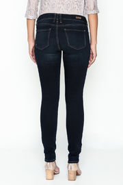 Kut from the Kloth Toothpick Skinny Denim Jeans - Back cropped