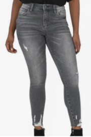 Kut from the Kloth Connie High Rise Ankle Skinny - Braver w/Grey Base - Product Mini Image