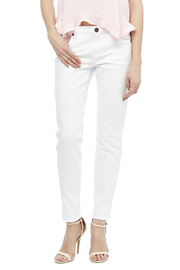 Kut from the Kloth White Skinny Jean - Front cropped