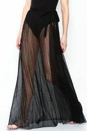 KUT Mesh Coverup Skirt - Front cropped