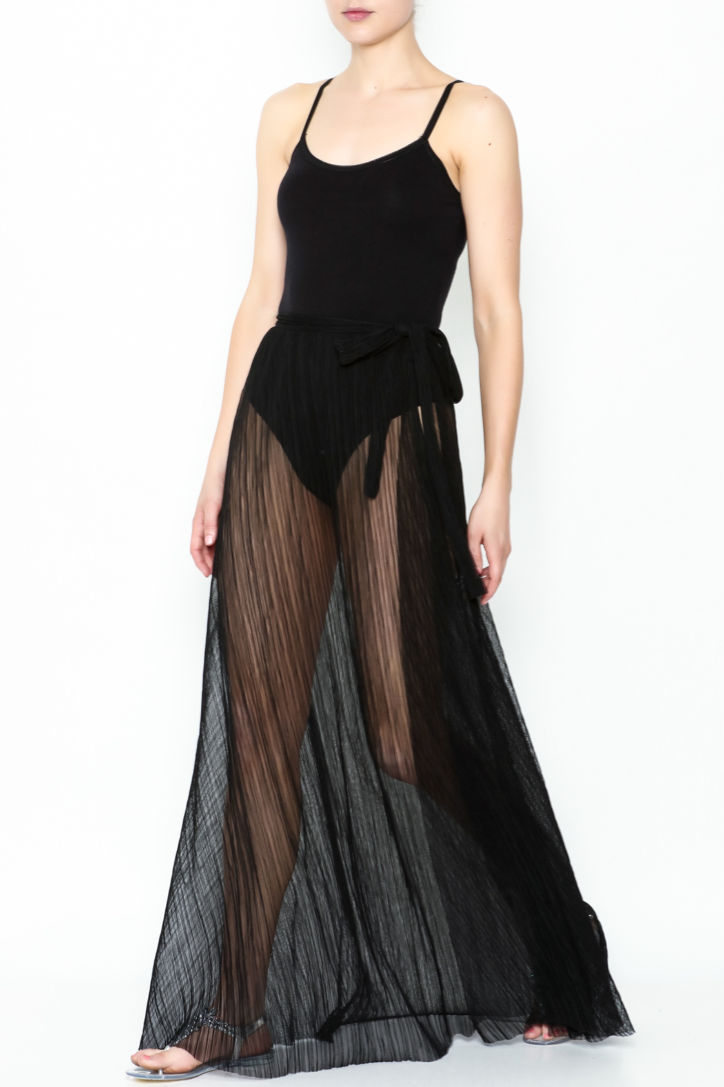 KUT Mesh Coverup Skirt - Main Image