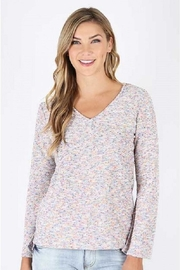 KUT Multicolored Knit Top - Product Mini Image
