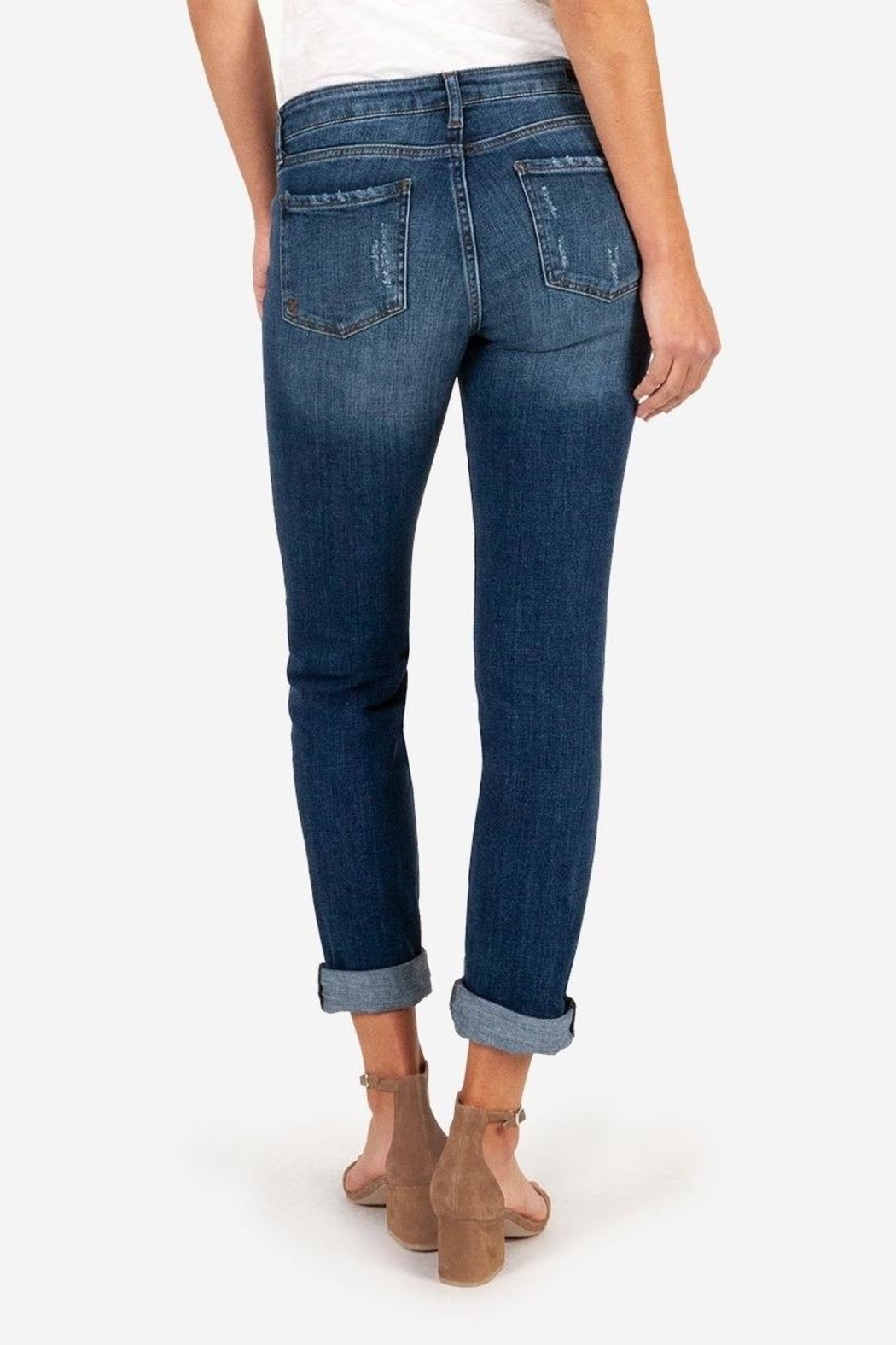Kut from the Cloth Catherine Boyfriend Jeans - Side Cropped Image