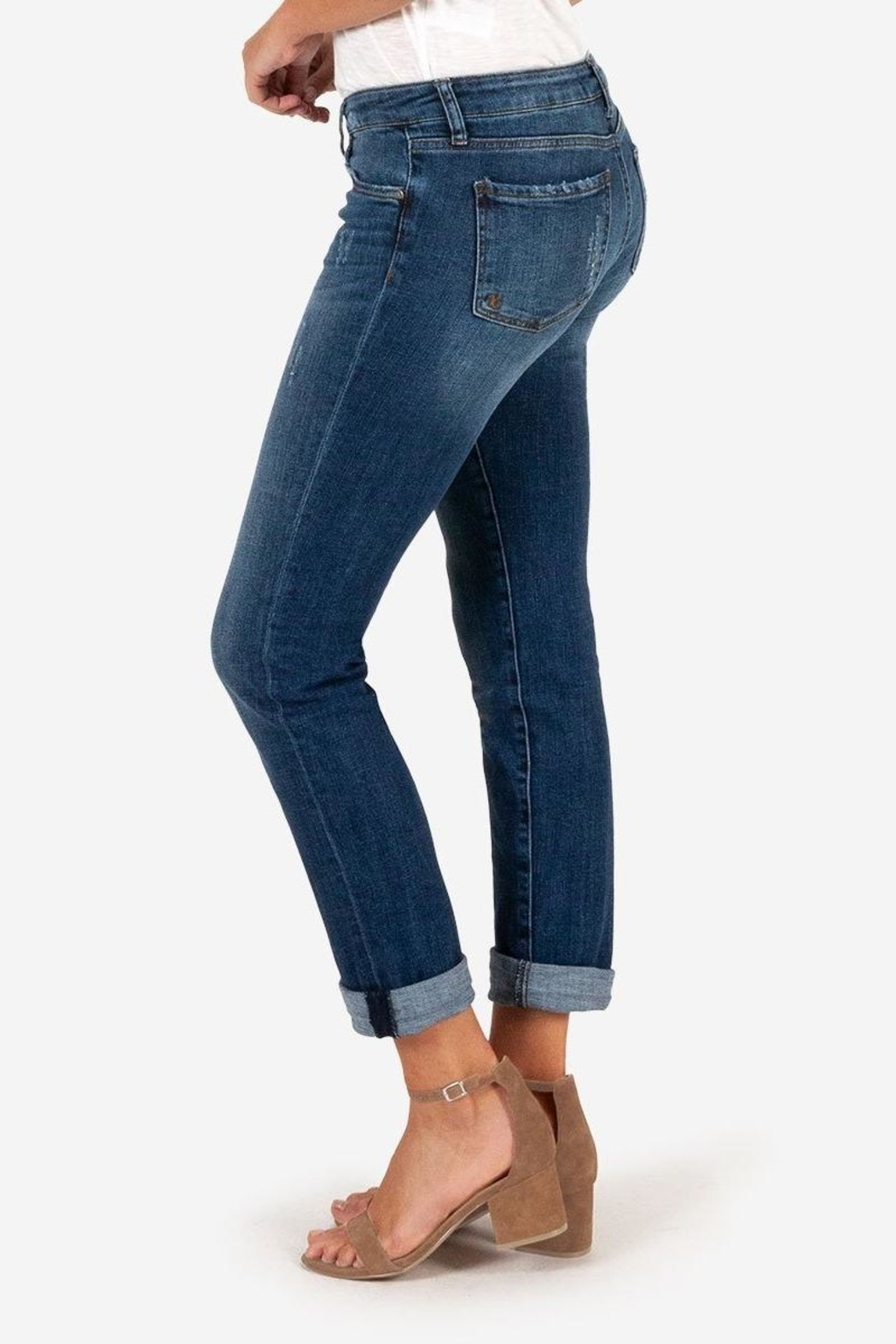 Kut from the Cloth Catherine Boyfriend Jeans - Front Full Image