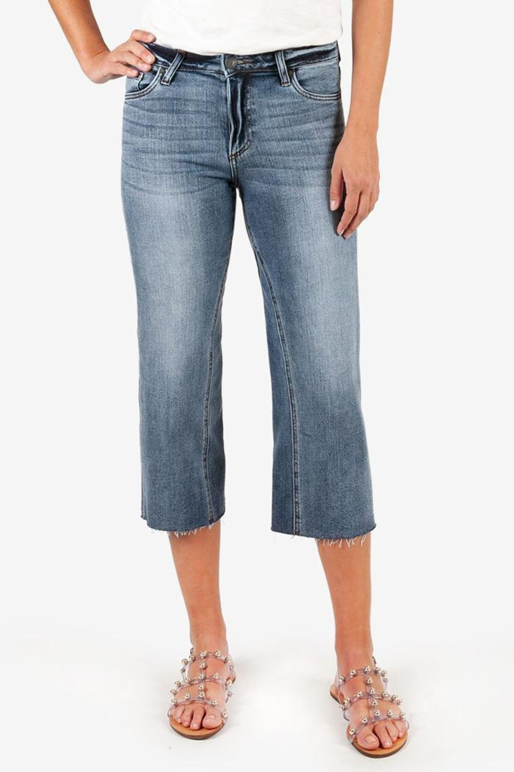Kut from the Cloth Charlotte Culotte Jean - Main Image