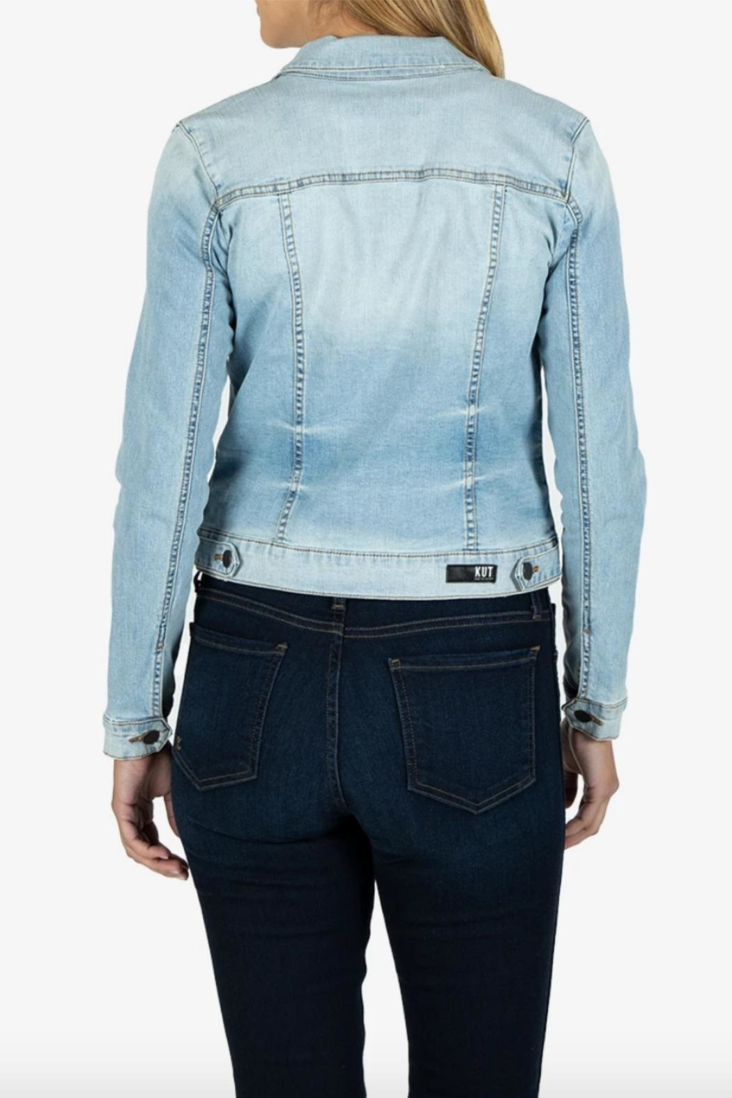 Kut from the Kloth Amelia Jacket - Side Cropped Image