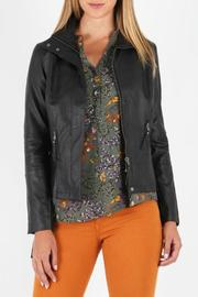 Kut from the Kloth Faux Leather MotoJacket - Product Mini Image