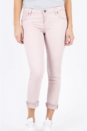 Kut from the Kloth Blush Frayedhem Pant - Front cropped