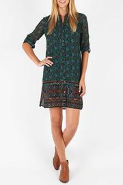Kut from the Kloth Boho Printed Shirt Dress - Product Mini Image