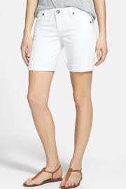 Kut from the Kloth Boyfriend Rolled Shorts - Product Mini Image