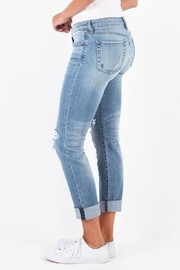 Kut from the Kloth Catherine Patchwork Jeans - Side cropped