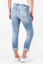 Kut from the Kloth Catherine Patchwork Jeans - Front full body