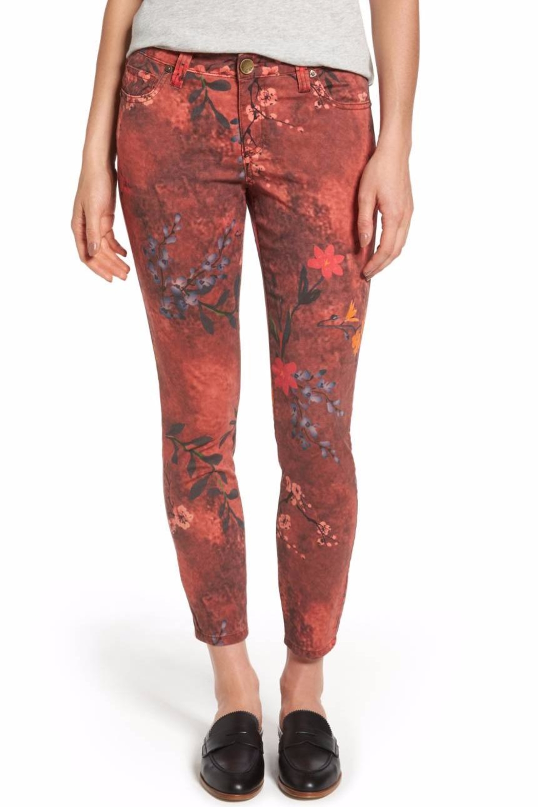 Kut from the Kloth Connie Print Skinny Jeans - Main Image