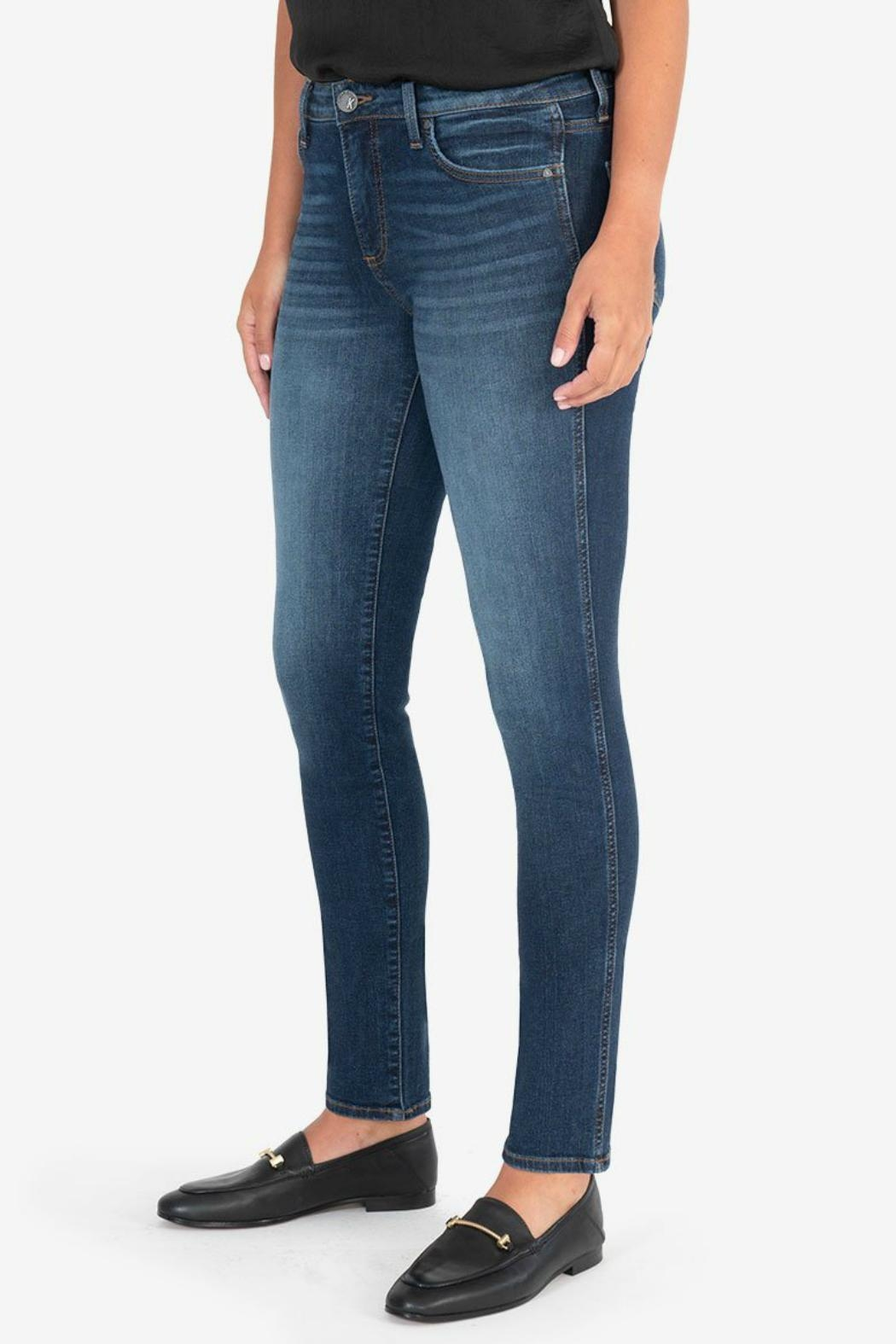 Kut from the Kloth Diana Fab-Ab Released-Fit-Skinny - Side Cropped Image